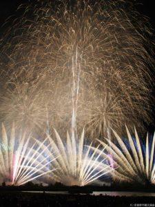 安曇野花火の写真