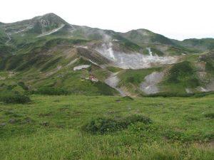 劔岳と弥陀ヶ原