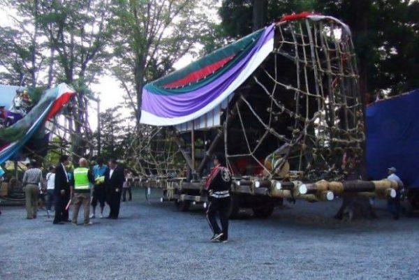 穂高神社お船祭り2019